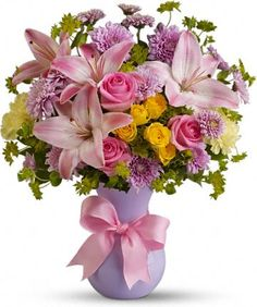 Teleflora's Perfectly Pastel - Order yours today for Mothers Day, or any occasion!