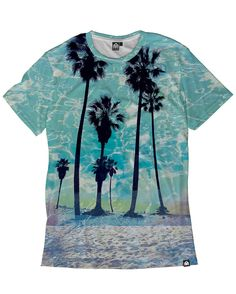 Summer Haze Men's All Over Print Tee