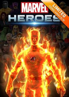 Human Torch Hero Pack