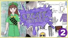 Create This Book Episode (Moriah Elizabeth) Art Journal Prompts, Journal Ideas, Draw With Jazza, Sketchbook App, Grav3yardgirl, Art For Kids Hub, Create This Book, Drawing Prompt, Wreck This Journal