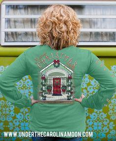 Home For Christmas Long Sleeve Southernology™ | underthecarolinamoon.com