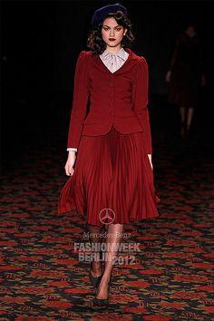 Lena Hoschek scarlet coordinates -- #fallintofashion14 #mccallpatterncompany