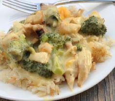 cazuela de pollo y brócoli