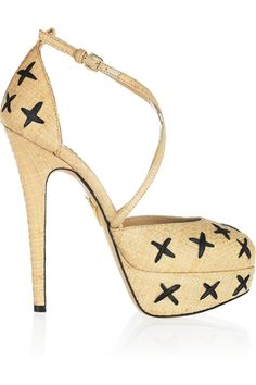 Charlotte Olympia: I could never walk in these, but so lovely!