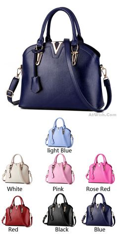 e6d6e6146ae9 New Lady Simple Tote Purse Shell Leather Messenger Bag Handbag Shoulder Bag  for big sale!