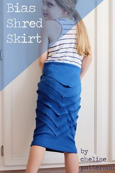 How to shred fabric like Chris from Project Runway - awesome tute!