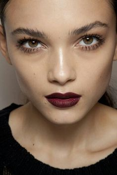 Red gotic lips