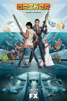 Archer on FX...this show is so wrong it's incredibly right. Makes me laugh harder than I should!