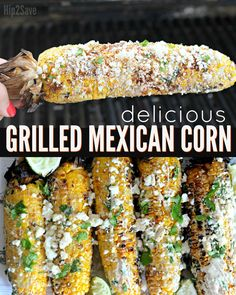 Mexican Grilled Corn (Must Try Recipe for Your Next BBQ) – Hip2Save
