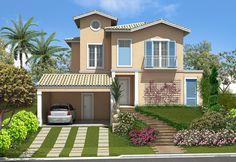 casas  exterior simples grande | Fachadas-de-casas-modernas