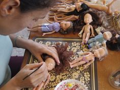 Can I do this myself? Become part of the re-styled doll movement! I encourage others to recycle and upcycle old dolls and toys. It's a lovely activity to do with your children, grandparents, family...