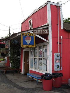 North Shore one of our fav treats, we need to go back so Deb can have a shave ice here!