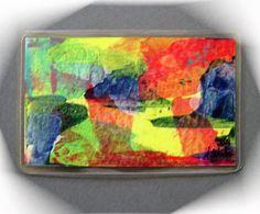 Acrylmalerei - Kunstgalerie Winkler Taschenkunst 26 handgemalt  - ein Designerstück von Kunstgalerie-Winkler bei DaWanda