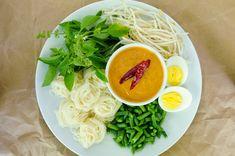 My favorite curry noodle dish so far - khanom jeen nam ya