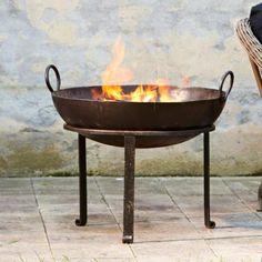 Feuerkorb Churmont #loberon | Romantischer Garten | Pinterest Feuerkorb Im Garten Gestaltungstipps