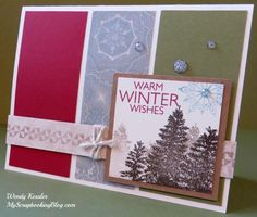 My Scrapbooking Blog by Wendy Kessler: 2013 Fall/Winter CTMH New Product Blog Hop #FrostedWOTG