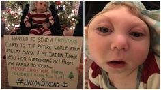Baby Jaxon, Born With Anencephaly, Defies the Odds to Send Everyone a Touching Christmas Card