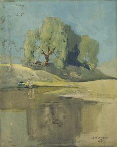 Музей рисунка - Сидни Лонг (Sydney Long, 1871-1955)