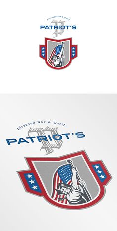 Patriot Licensed Bar and Grill Logo - Logos - 1