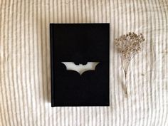 BATMAN Notebook Personalized hardcover sketchbook by theivydesign, $19.00