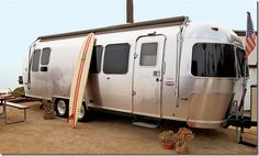 McConaughey's trailer, named Canoe, is new, a 2004 Airstream that he completely customized.