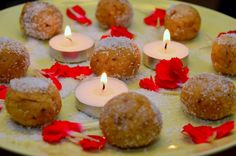 First of all Happy Tihar (festival of lights) everyone! Here is a quick and easy dessert recipe for celebrating Tihar. Rava Ladoo, Easy Desserts, Dessert Recipes, Festival Lights, Birthday Candles, Cooking, Blog, Cuisine, Kitchen