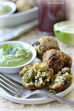 Southwestern Quinoa Bites - Fork & Beans. If we do these again, i will add spices to the quinoa mixture. The inside needed more flavor