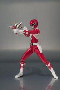 Mighty Morphin Power Rangers Red Ranger - Tamashii Nations