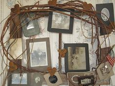 Decorating with old photos