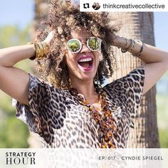 BULLIES ARE ASSHOLES: HOW TO DEAL CYNDIE STYLE.  I'm over on @thinkcreativecollective's new podcast called Strategy Hour. You guys...this shit is SO good! Take a listen please and let me know your thoughts. It's really (really) good. Just sayin'. .............................................. Today we have @cyndiespiegel on the podcast. We are talking about some difficult stuff but its stuff that really needs to be brought out into the open. Cyndie drops some truth bombs and we talk about…