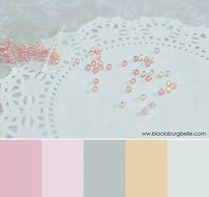 Color Inspiration: Sparkling Beads