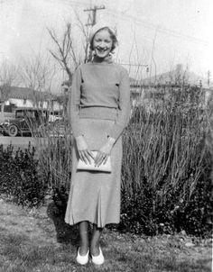 Jersey Knit 1930s Suit