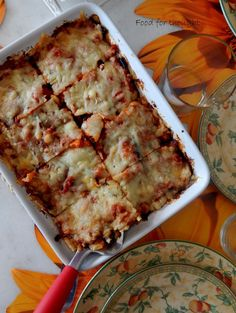Food for thought Food For Thought, Lasagna, Buffet, Ethnic Recipes, Lasagne, Buffets, Sideboard Buffet, Lunch Buffet