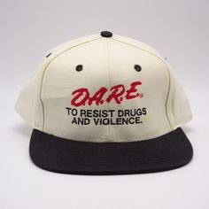 302a129992a DARE to Resist Drugs Violence hat - Snapback cap  Mohrs  BaseballCap  Strapback Hats