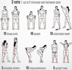 Versatile image intended for printable resistance tube exercise chart