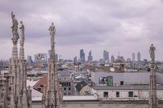 """Terrasse du Duomo - """"24 heures à Milan (ou ma journée de non fashion victim)"""" by @Voyagesetc"""