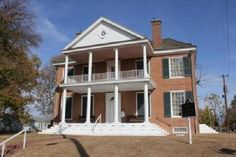 Grouseland, Home of William Henry Harrison in Vincennes, Indiana - great tour for kids on early Indiana history...
