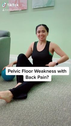 Fitness Workouts, Fitness Motivation, Pelvic Floor Exercises, Back Exercises, Core Strength Exercises, Floor Workouts, Easy Workouts, Pilates Workout Videos, Pilates For Beginners