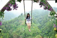 From @natashafiliana . Do something fun that makes you feel 5 again . Taken at Coban Rais Kota Wisata Batu