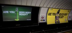 """Carlsberg asks """"Are you Beer body ready"""" spoofing Protein World"""