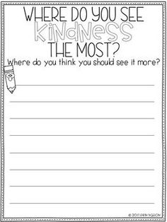 Classroom Guidance Lesson - Kindness Elementary Counseling, School Counselor, Elementary Schools, Counseling Office, Classroom Tools, 4th Grade Classroom, Future Classroom, School Holidays, School Days