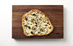 Fresh Artichoke, Olive, and Burrata Pizza Recipe - Bon Appétit
