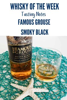 Review and Tasting Notes for the Famous Grouse Smoky Black Whisky