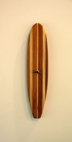 Surfboard clock by NZbyNature on Etsy