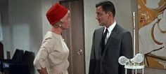 """Doris Day and Tony Randall in """"Pillow Talk"""""""