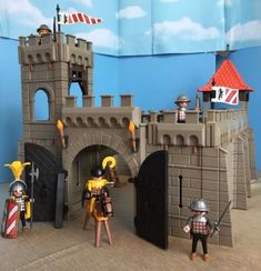 PLAYMOBIL-3667-Vintage-Medieval-Small-Castle-Complete-Set-Instructions