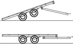 When building a new trailer, I wanted the most versatile trailer possible. It needed to be able to carry a large load of sand or mulch, be suitable for carrying pallets, able to be loaded by forklift and carry a ride on mower or small car. Box trailers in my area are the cheapest and most common trailer, but they are too restrictive for loading with a forklift and not wide enough for a car. Car trailers have nice low floor for loading but are very wide for towing and storage. Even with a…