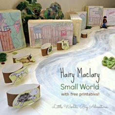 Hairy Maclary Small World Storytelling - positional language