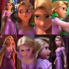 Tangled - Angry Rapunzel.