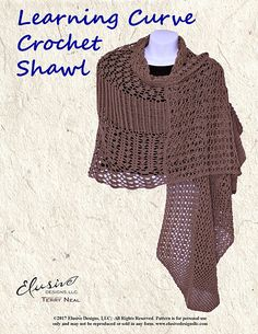 d807a9fc88c5f4 Learning Curve Crochet Shawl pattern by Terry Neal